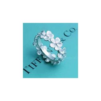 tiffany tiffany&co flowers ring mini jewels