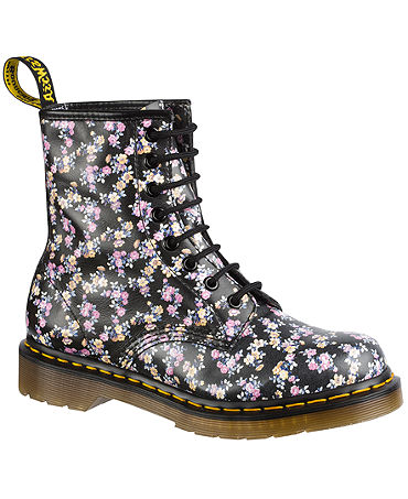 Dr. Martens Women's 1460 Floral Boots - Juniors - Macy's