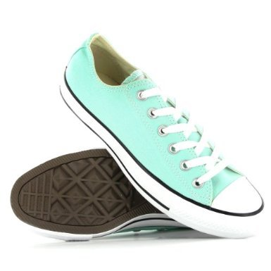 Converse CT Ox Teal Womens Trainers:Amazon:Shoes on Wanelo