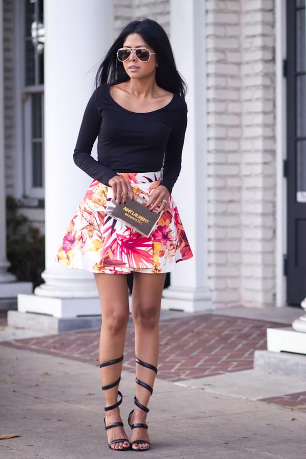 walk in wonderland t-shirt skirt shoes bag