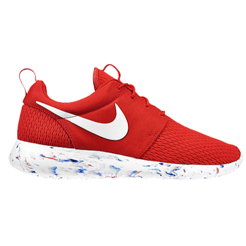 Nike Roshe Run - Men's - Running - Shoes - Challenge Red/Laser Crimson/Midnight Navy/White