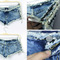 Sexy womens side straps hot pants jeans worn denim shorts nightclub party | ebay
