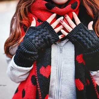 gloves gris