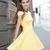 Yellow/Fuchsia Short Sleeve Peplum Mini Dress : KissChic.com
