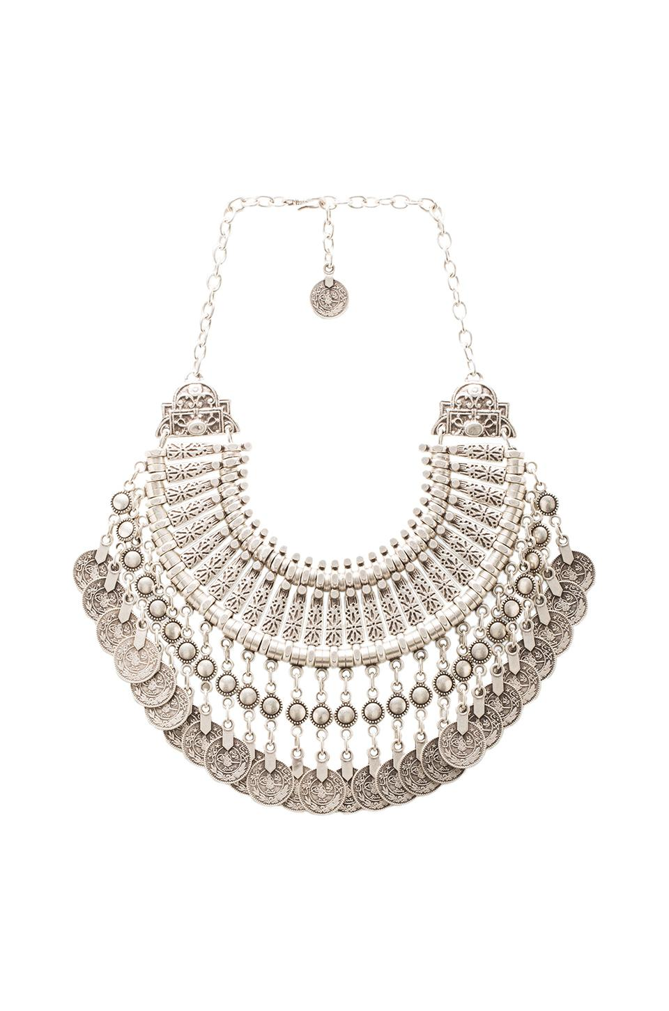 Natalie B Jewelry Natalie B Fit for a Queen Necklace in Silver   REVOLVE