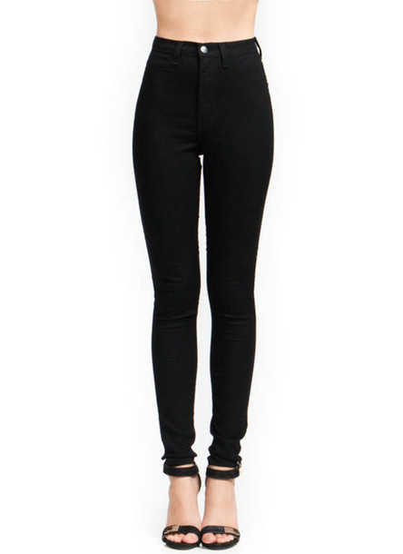 jeans black jeans high waisted jeans