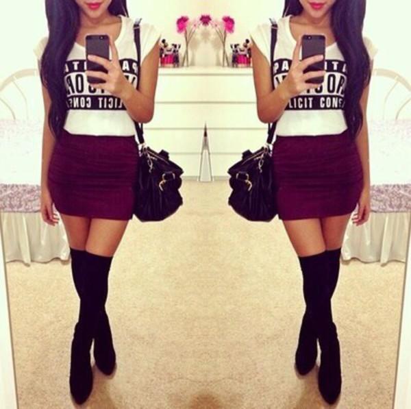 shoes socks skirt shorts shirt