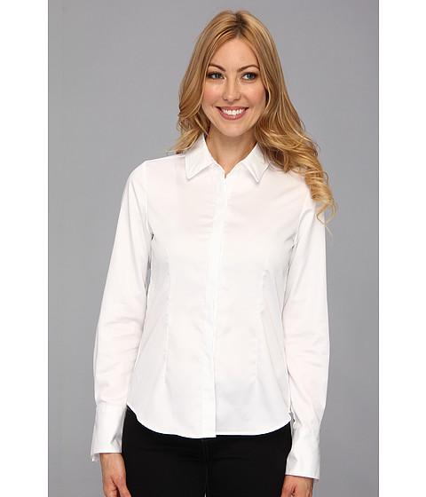 Pendleton Petite Viola Shirt White Shirting - Zappos.com Free Shipping BOTH Ways