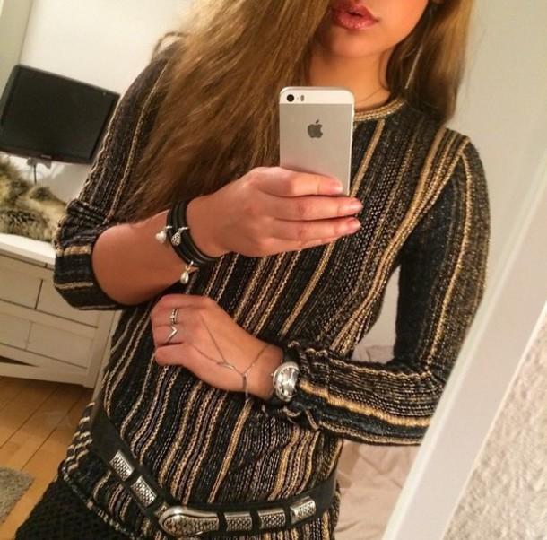 blouse t-shirt t-shirt style sweater belt