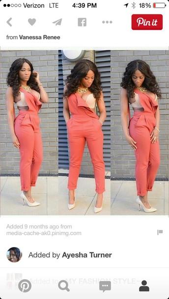 dungarees dope blouse jumpsuit