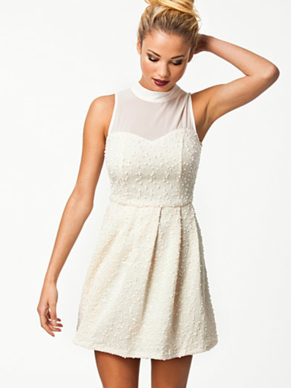 dress sommer white party