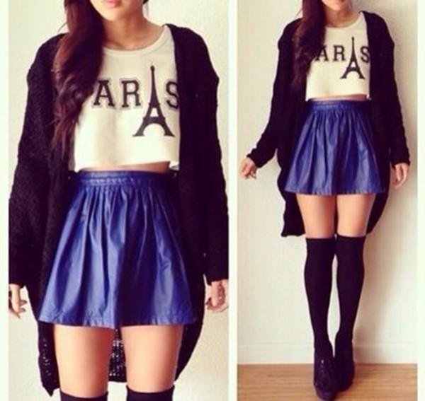 blouse t-shirt skirt underwear shoes sweater shirt