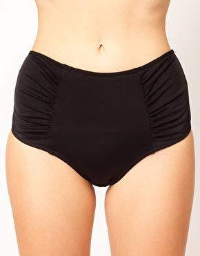 ASOS   ASOS Mix and Match High Waisted Bikini Pant at ASOS