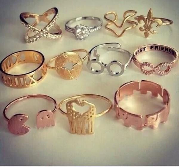 jewels giraffe ring