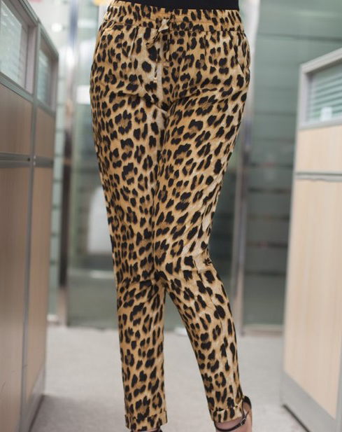 Leopard Loose Pants