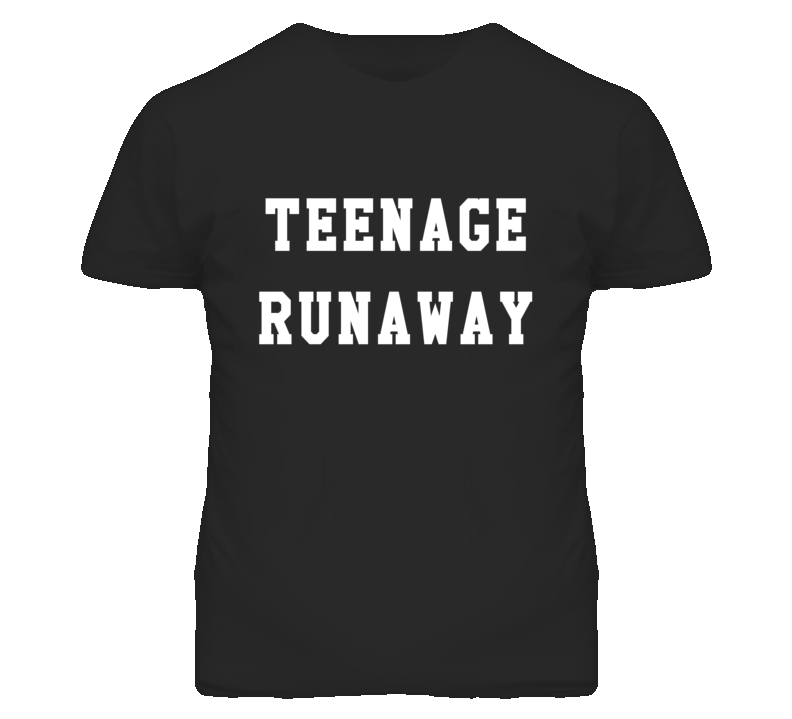 Teenage Runaway Popular One Direction Graphic T Shirt