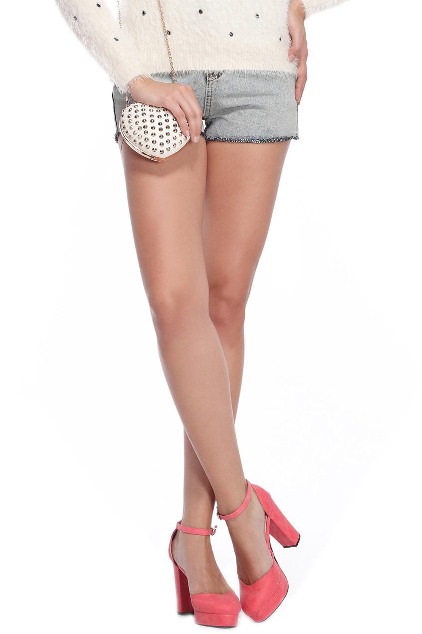 ROMWE | High-Rise Denim Shorts, The Latest Street Fashion