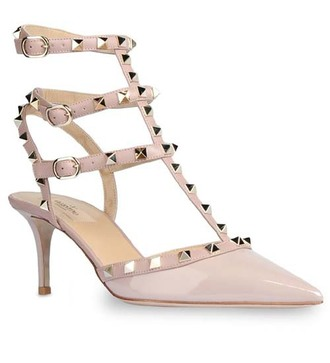 shoes valentino slingbacks low heels europe paris italy patent shoes