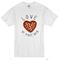 Love at first bite pizza heart t-shirt - basic tees shop