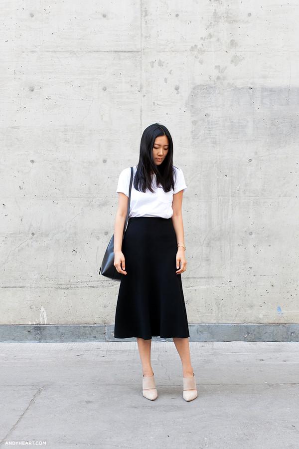 andy heart bag t-shirt skirt jewels