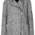 Grey Textured Ovoid Coat - Jackets & Coats  - Clothing  - Topshop