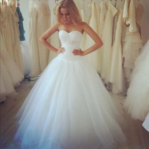 dress wedding dress white dress wedding