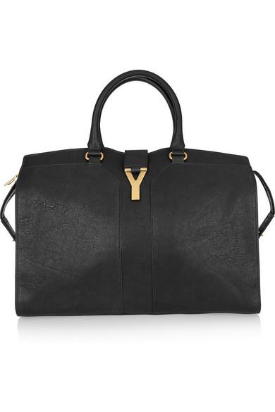 Saint Laurent|Cabas Chyc Large leather shopper|NET-A-PORTER.COM