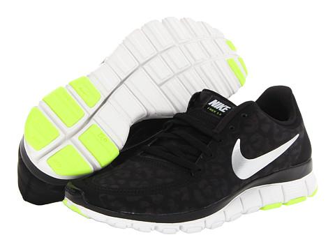 Nike Free 5.0 V4 Black/Anthracite/Volt/Metallic Silver - Zappos.com Free Shipping BOTH Ways