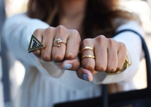 jewels boho hippie ring