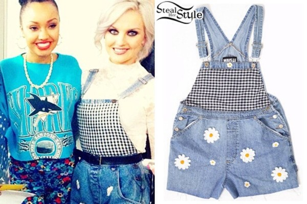 shorts perrie edwards demin