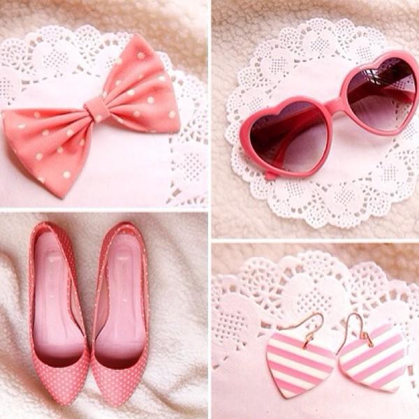 sunglasses shoes jewels hair accessory earrings