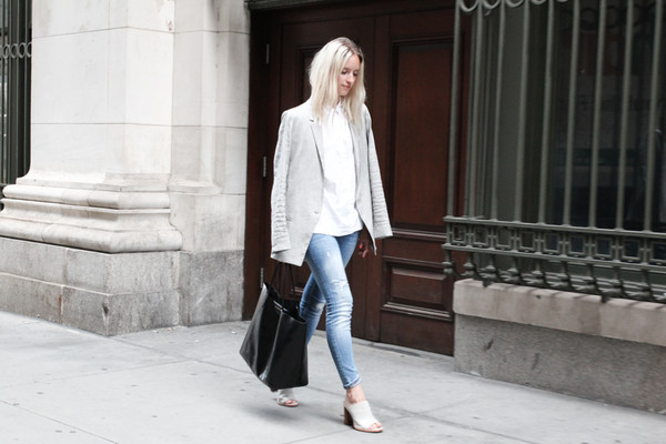 the fashion guitar jeans jacket bag shirt