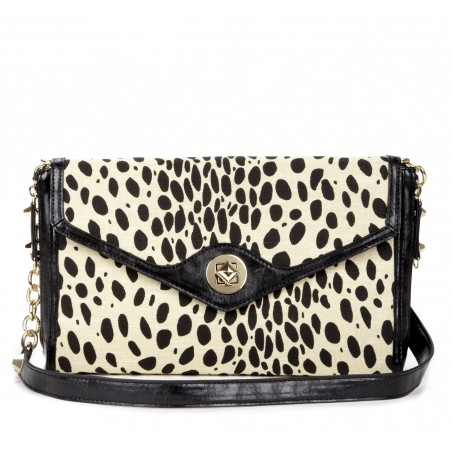 Sole Society Bags - PRINTED ENVELOPE CLUTCHs - Phoebe - Leopard