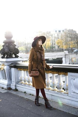miss pandora blogger coat dress bag hat shoes jewels