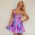 Purple Fusion Dress / Boutique By Bel