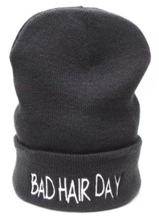 Bad Hair Day Beanie Hat: Amazon.co.uk: Clothing