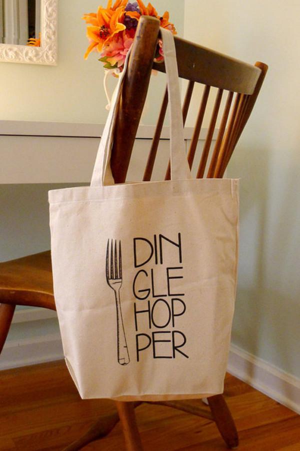 bag cute bag dinglehopper the little mermaid tote bag hipster