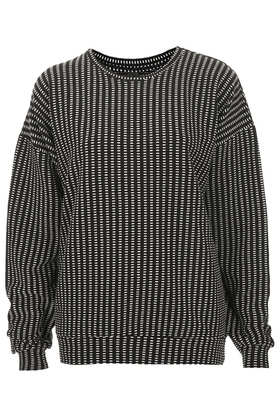 Textured Sweat by Boutique - Boutique  - Clothing  - Topshop USA