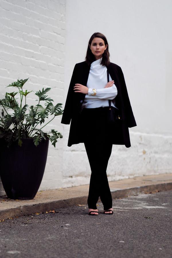 harper & harley top pants jacket bag jewels shoes