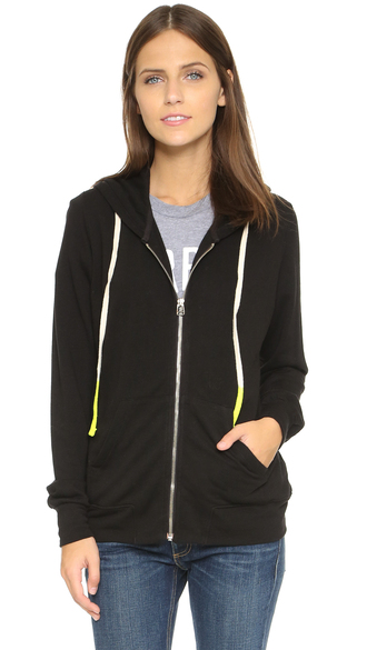 jacket fashion clothes sundry classic zip hoodie