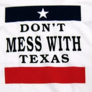 Don't Mess With Texas Men T-Shirt