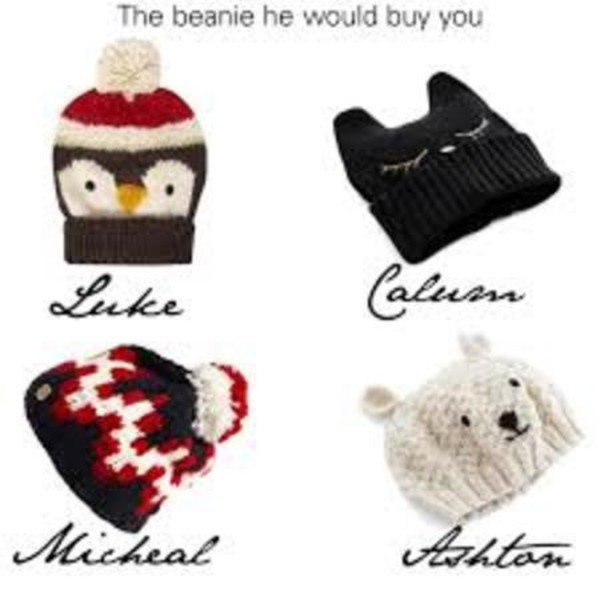 hat bear beanie cats penguin polar bear