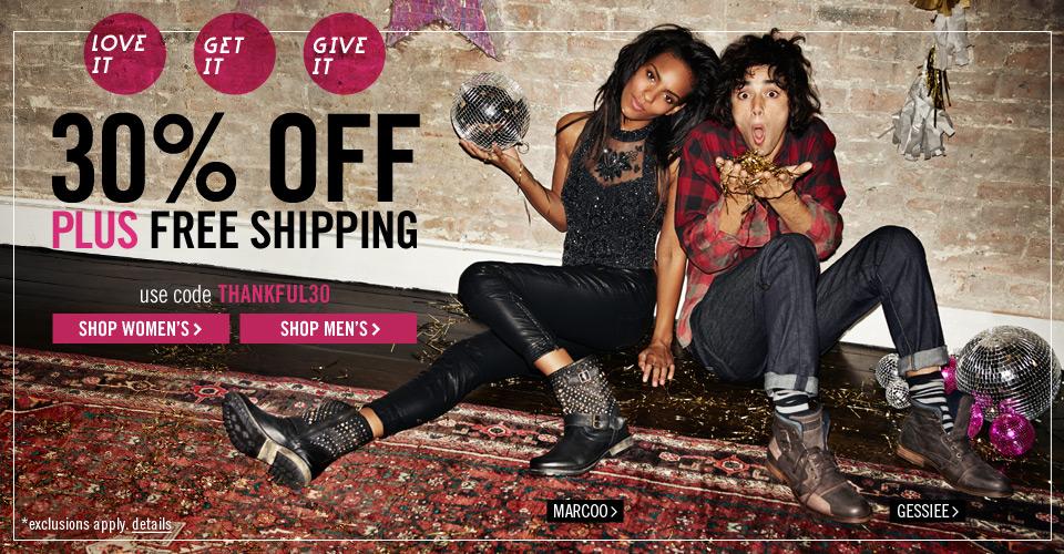 Free Shipping, No minimum   Shop Steve Madden Shoes & Handbags