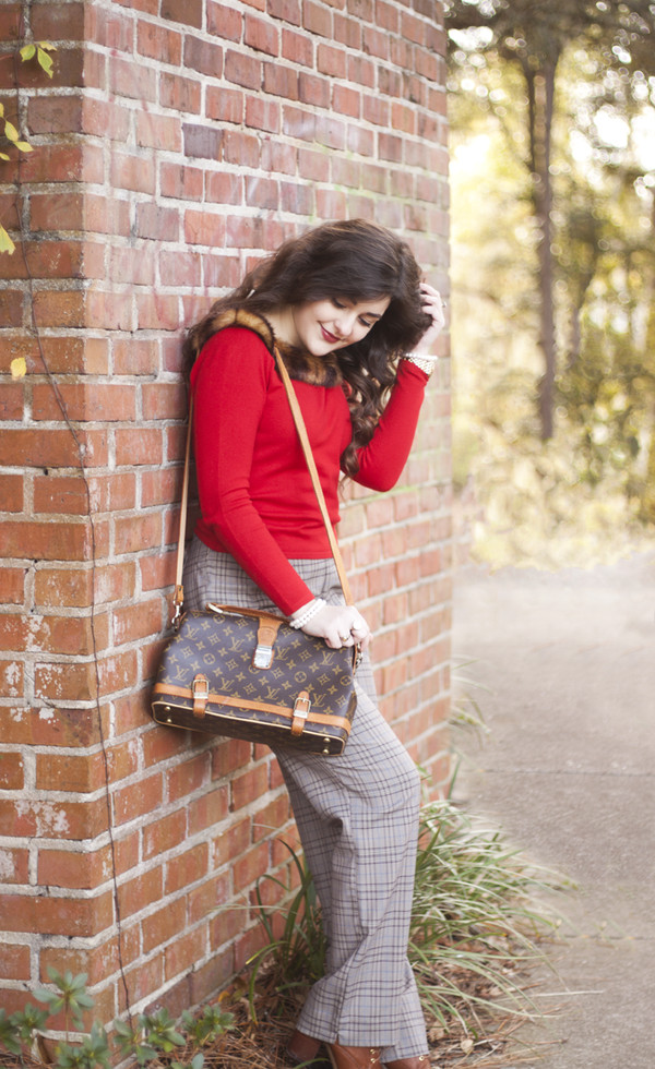 a walk in the park blouse pants bag shoes