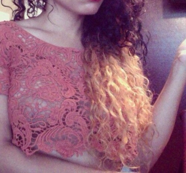 shirt crochet crochet crop top cute see through crop tops dressy urgent love