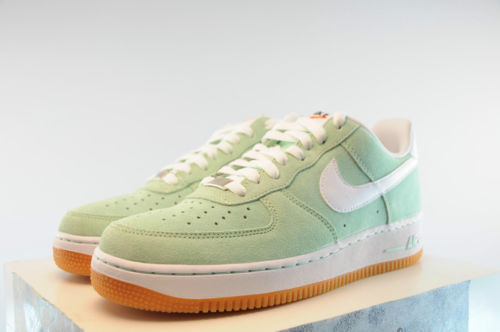 Men's Nike Air Force 1 Arctic Green White Brown 488298 309 Sizes 7 5 13 2013 | eBay