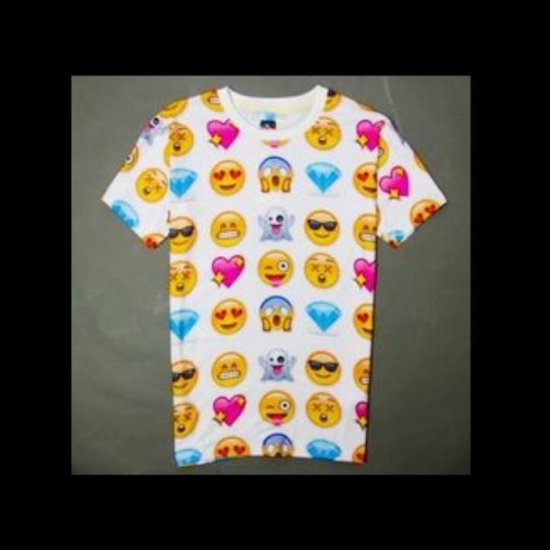 t-shirt emoji shirt