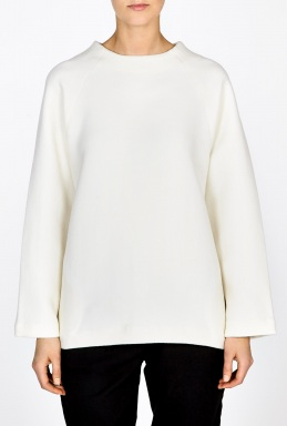 Studio Nicholson | Oversize Formal Wool Sweatshirt by Studio Nicholson