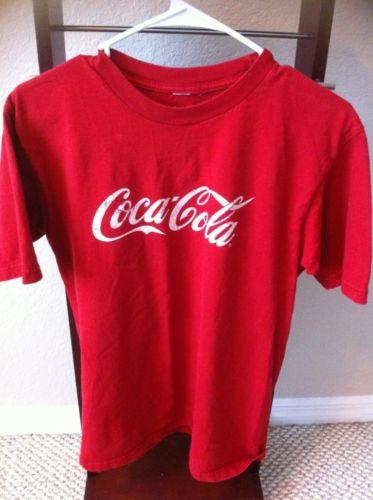 Coca Cola Men's T Shirt Size Medium Vintage 100 Cotton | eBay