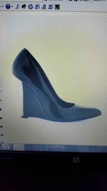 shoes escarpins noirs vernis